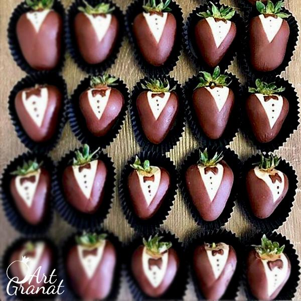 ArtGranat вкусные букеты - клубника в шоколаде №8