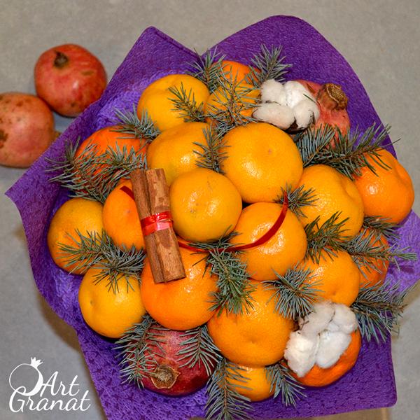 ArtGranat вкусные букеты - букет из фруктов и овощей №7
